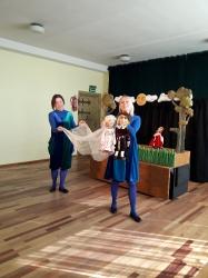 """Panevėžio lėlių vežimo teatro spektaklis """"Princesė Strazdanėlė"""""""
