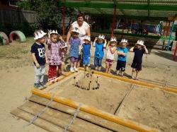 Statėme smėlio pilis